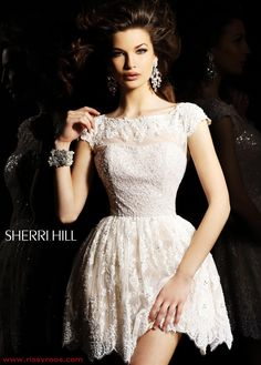 Gorgeous lace cocktail dress (Sherri Hill 2957)