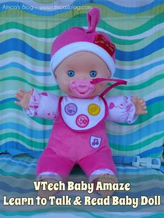 VTech Baby Amaze Doll ~ Review &  #Giveaway!! (ends 11/16)   http://africasblog.com/2015/11/09/vtech-baby-amaze-review/
