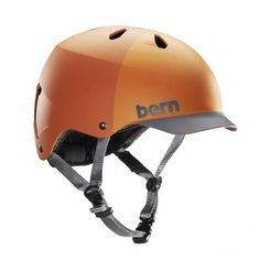 Bern Unlimited Watts Water Hatstyle Helmet, Small, Orange - http://discountboaters.com/watersports/wakeboards/bern-unlimited-watts-water-hatstyle-helmet-small-orange-31/