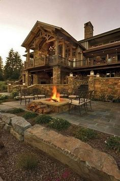 Rustic mountain house plans with walkout basement awesome locatiarchitects portfolio coeur dalene lake residence remodel Haus Am See, Rustic Home Design, Rustic Home Plans, Wooden House Design, Log Cabin Homes, Log Cabins, Cabins In The Woods, Simple House, My Dream Home
