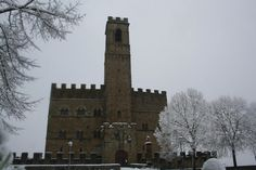 Castello di Poppi in winter
