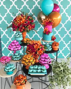 23rd Birthday, Birthday Parties, Happy Birthday, 15th Birthday Decorations, Havana Nights Party Theme, Mexican Party, Tropical Party, Backdrops For Parties, Event Decor