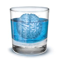 Brain Freeze Ice Tray - would be fun for a zombie themed party