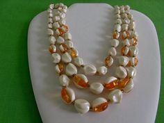 Hey, I found this really awesome Etsy listing at https://www.etsy.com/listing/161402024/vintage-western-germany-beaded-necklace