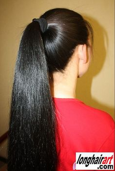 3 150 cm thick wonderful super chinese long hair for sale 002 Long Ponytail Hairstyles, Long Hair Ponytail, Braids For Long Hair, Straight Ponytail, Long Ponytails, Curly Hair, Long Silky Hair, Long Dark Hair, Very Long Hair