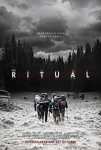 Well this was a much needed change of pace. Ritual form 2017 it awesome. Strange creepy and that monster is bad ass. of 5 Pentagrams. WTF moment: what they find in the cabin is terrifying. Horror Movie Posters, Horror Movies, Scary Movies, Film Posters, The Ritual Movie, O Ritual, Best Halloween Movies, Netflix, Office Movie