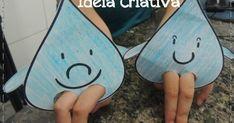 No Ideia Criativa você encontra sequência didática, planos de aula para Educação Infantil, atividades e projetos pedagógicos. Hobbies And Crafts, Arts And Crafts, Water Day, Earth Day, Projects For Kids, Teaching Kids, Sunglasses Case, Preschool, Activities