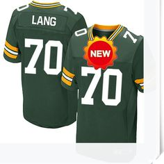 $66.00--T J Lang Jersey - Nike Stitched Green Bay Packers  Jersey,Free Shipping! Buy it now:http://is.gd/YcJiqp