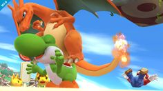 Super Smash Bros. for Nintendo 3DS / Wii U: Charizard (Wii U 3)