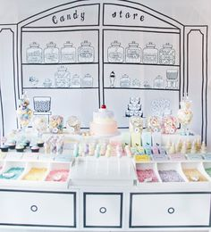 Vintage Candy Store party
