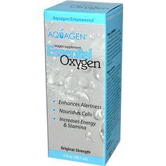 Aquagen, Essential Oxygen, 2 fl oz (59.1 ml)