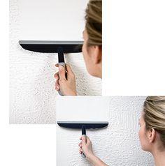 Problemen met uw muur oplossen doet u op een eenvoudige manier. Lees hier hoe u uw muur gladmaakt, zonder opnieuw te stucen.