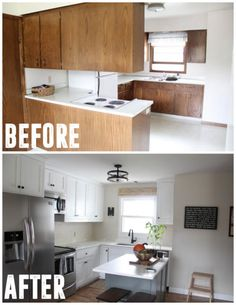 Dear Lillie: Our Kitchen Makeover on a Budget (Phase 1) | Home ... on house balcony ideas, house entrance ideas, house roofing ideas, house restaurant ideas, house foyer ideas, house den ideas, house pool ideas, house wet bar ideas, house garage ideas, house basement ideas, house beautiful kitchens, rustic house ideas, house furniture ideas, house loft ideas, vintage house ideas, house fireplace ideas, house cleaning ideas, house paint ideas, house deck ideas, house interior ideas,
