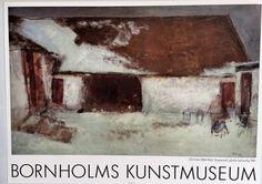 Oluf Høst - Bognemark, vinter - Bornholms Kunstmuseum