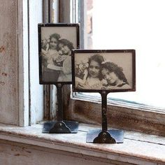 Picture Frame On Stand | Metal Picture Frames | Vintage Syle Photo Frames Antique Farmhouse