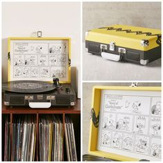 Take yourself back to complex times! Pull out a Charlie Brown zig-zag record player, spin some Vince Guaraldi tunes and do a Snoopy dance. Start shopping at CollectPeanuts.com and help support our site.