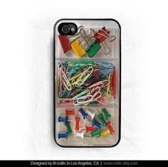 Office Supplies iPhone Hard Case. #onlineshopping #iPhone #blisslist Buy it on BlissList: https://itunes.apple.com/us/app/blisslist-easy-shopping-gifting/id667837070