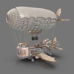 Welcome to the World of Steampunk Imagine a high-tech world where the machines were powered by steam and clockwork mechanisms replaced electronics. Steampunk Kunst, Steampunk Airship, Mode Steampunk, Steampunk Crafts, Dieselpunk, Steampunk Machines, Fun Craft, 3d Modelle, Baby Mobile