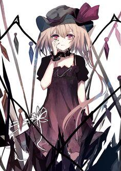 Remilia Scarlet | Artist: Green Shrine Maiden, Anime Artwork, Girl Wallpaper, Scarlet, Manga Anime, Kawaii, Artist, Beautiful, Green