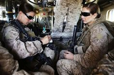 UNITED STATES ARMY -  Women in the military.  Sometimes, sadly also known as the invisible soldier.