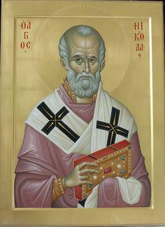 Byzantine Art, Byzantine Icons, Russian Icons, Orthodox Christianity, Saint Nicholas, Orthodox Icons, Medieval, Saints, Sculptures