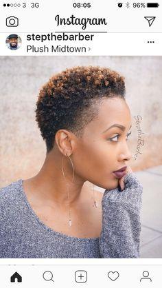 31 Best Short Natural Hairstyles for Black Women | Short natural ...