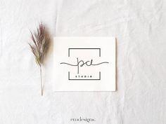 Logo petite entreprise, Logo élégant personnalisable, Logo préfabriqué,Logo minimaliste,Logo Prefait,logo moderne, Logo kit, Logo moderne