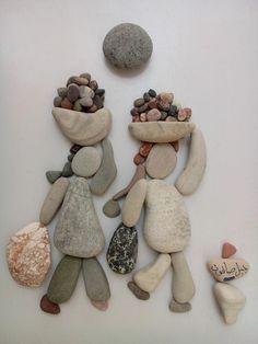 Nizar Ali Badr...I love this beautiful piece of pebble and stone Art!!