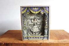 Your place to buy and sell all things handmade Toy Theatre, Sand Toys, Kinetic Art, Magic Box, Gold Paper, Toy Craft, Toys Shop, Paper Toys, Shadow Box