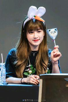 Park Chorong ♡ Pink Panda, Kpop Groups, My Childhood, Make Me Smile, Korean, Japanese, Park, Artist, Idol