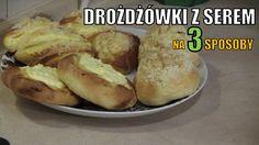 Drożdżówki z serem na trzy sposoby