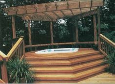 "deck styles pictures | TLC ""Deck Ideas: Overhead Drama for Deck Designs"""