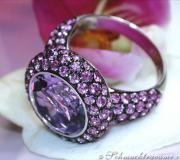 Prachtvoller Amethyst Pink-Saphir Ring image