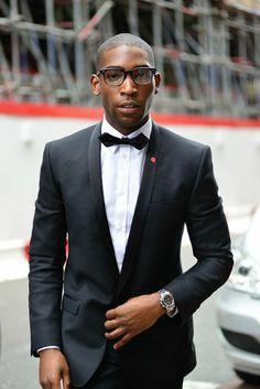 The Well-Dressed . Gentleman Mode, Dapper Gentleman, Dapper Men, Gentleman Style, Sharp Dressed Man, Well Dressed Men, Black Tuxedo, Black Men, Tinie Tempah