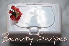 Make Your Own Beauty Swipes ~ Cleanse Beautifully in One {Pure} Step!