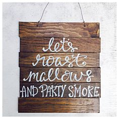 Let's Roast Mallows And Party S'more Wedding by TheBeezeKnees