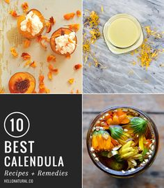 10 Best Calendula Recipes + Remedies | HelloNatural.co