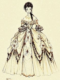early Belle concept? Whom ever she is, she is quite beautiful.