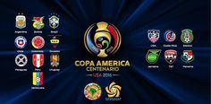 Copa America I'm going almost saved up yay! I can't wait any longer Copa Centenario, Copa America Centenario, Soccer World, Football Soccer, Premier League, Fifa, World Cup, Countries, Goals
