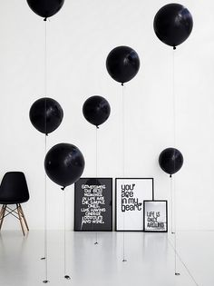 Méchant Design: black moodboard
