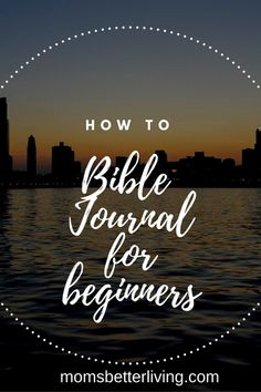 What is Bible Journaling? Learn how to get a closer relationship with God by journaling.