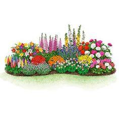 Endless Bloom Perennial Garden for Beginners - Flowers and Things - # Beginnings . - Endless Bloom Perennial Garden for Beginners – Flowers and Things – # - Perennial Garden Plans, Flower Garden Plans, Flower Garden Design, Perennial Gardens, Small Garden Plans, Perennial Plant, Gardening For Beginners, Gardening Tips, Flower Gardening