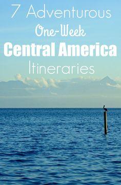 7 Adventurous One-Week Central America Itineraries