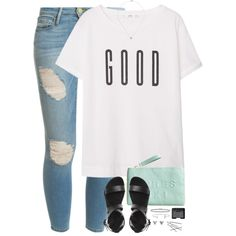 All we had is gone now Tell them I was happy And my heart is broken All my scars are open Tell them what I hoped would be Impossible by kaley-ii on Polyvore featuring MANGO, Frame Denim, H&M, BERRICLE, Ingenious Jewellery, Humble Chic, Ileana Makri and NARS Cosmetics