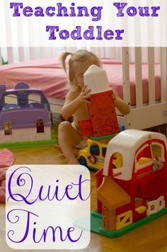How do I Homeschool with a Toddler Underfoot? Quiet Time Training - Only Passionate Curiosity