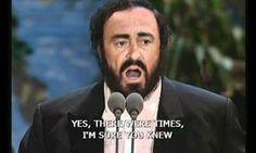 Reveja este momento histórico: Roberto Carlos e Luciano Pavarotti em um dueto interpretam 'Ave Maria'. Emocionante!