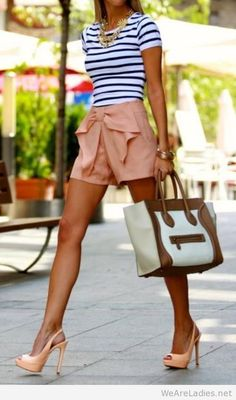 Elegant summer outfit idea