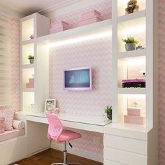 Barbie's Dream Office.