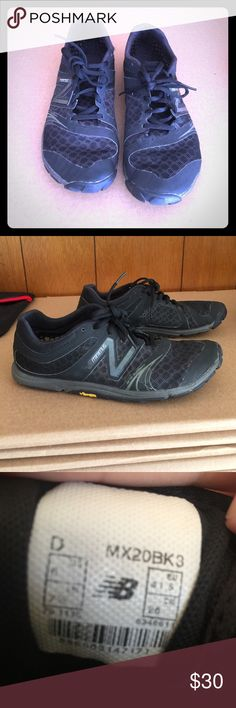Mens New Balance Minimus shoes Used mens new balance running shoes no major damage still have alot of life left in them. Size 8. New Balance Shoes Athletic Shoes