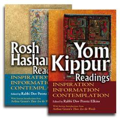 Rosh HaShanah & Yom Kippur Readings: Inspiration, Information, Contemplation